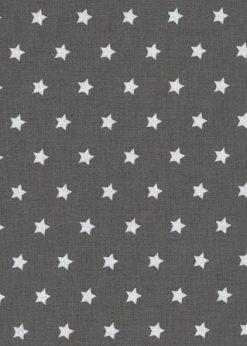 Westfalenstoffe Druckstoff Bergen Sterne anthrazit