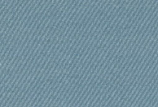 uni meliert Stoffmuster blau