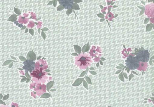 Westfalenstoffe Cardiff Blumen türkis