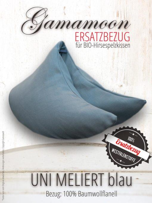 Ersatzbezug Gamamoon Uni Meliert blau