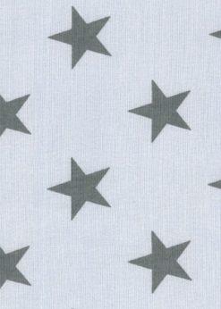 Westfalenstoffe Jersey Sterne grau