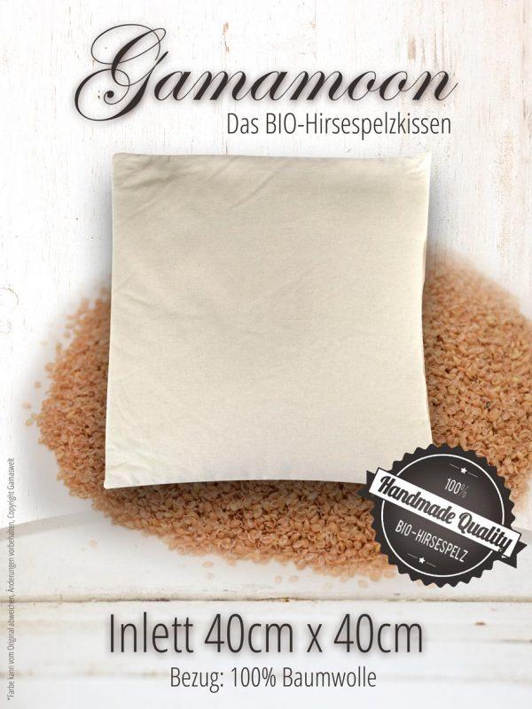 Gamamoon Hirsespelz Inlett 40cm x 40cm