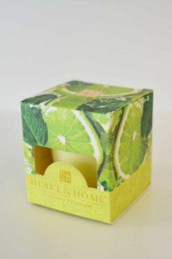 Heart & Home frische Limette 52g Votivkerze