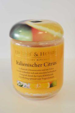 Heart & Home italienischer Citrus Glas 115g