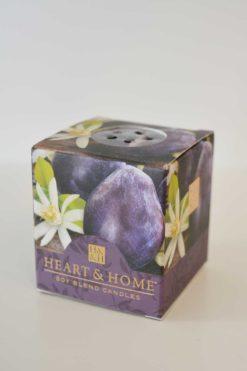 Heart & Home Pflaume Orangenbluete 52g Votivkerze
