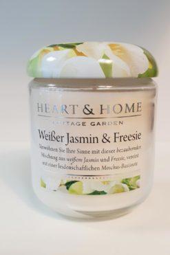 Weisser Jasmin und Fressie Glas 115g
