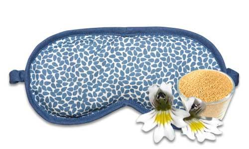 Gamaswelt Schlafmaske blau
