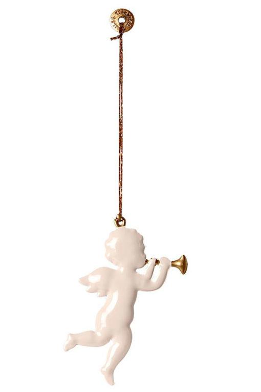 Maileg Metal Ornament Angel Trompete