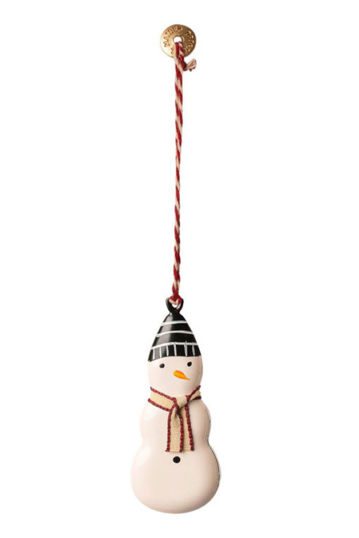 Maileg-Metal-Ornament Snowman