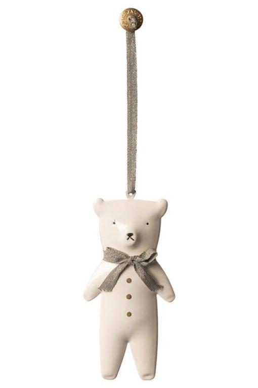 Maileg Ornament Metal Teddy Bear