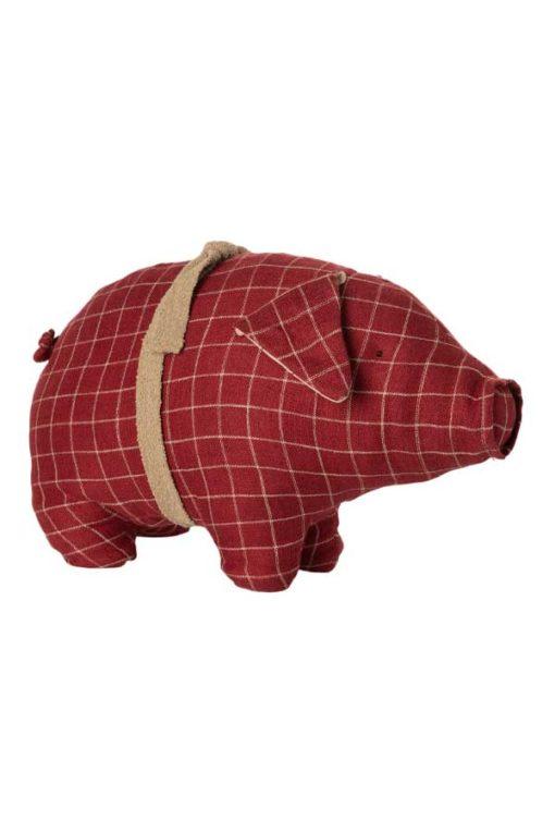 Maileg Stoffschwein Medium rot