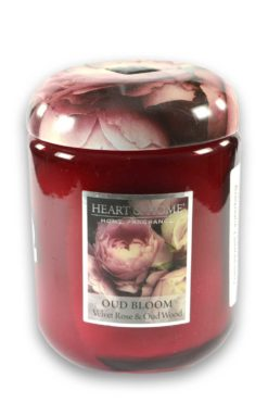 Heart and Home Duftkerze Oud Bloom 340g