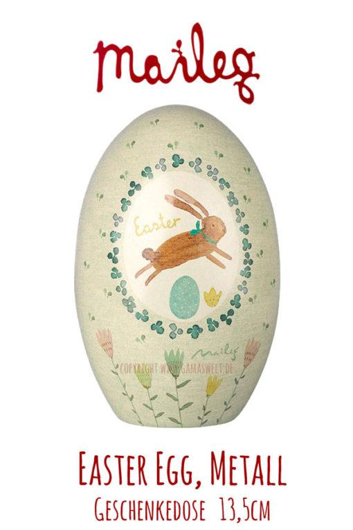Maileg Easter Egg Metall, grün